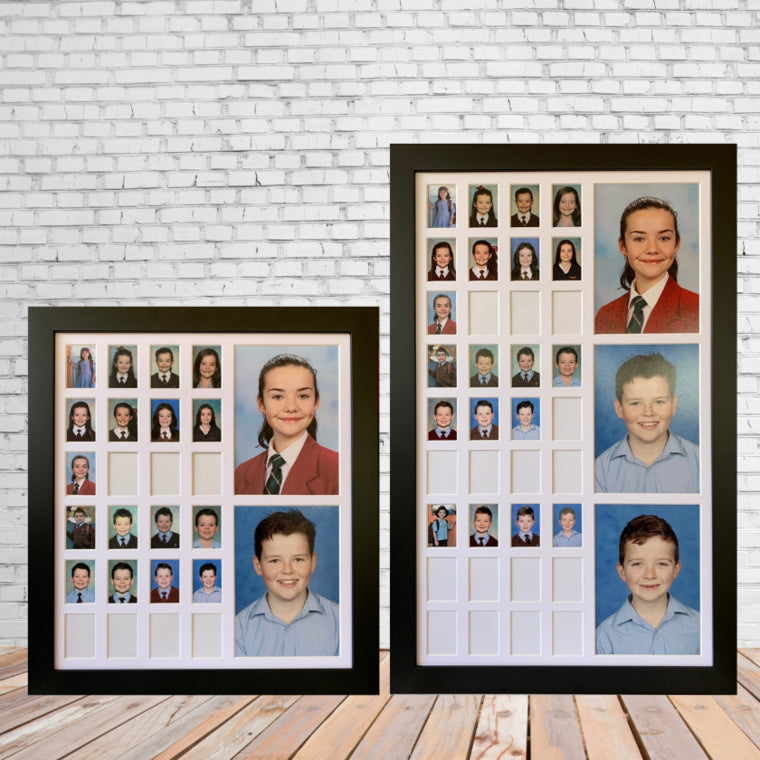 Small Double & Triple School Years Frames