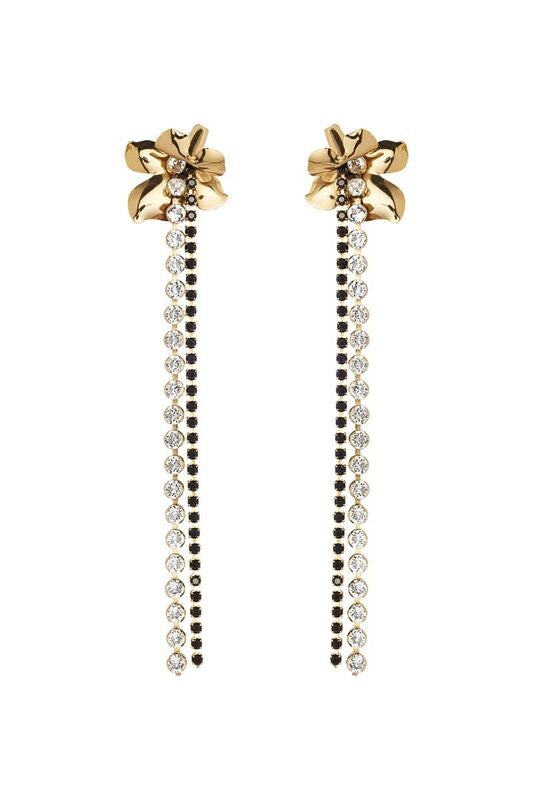 LES FLEURS JEWEL DROP EARRINGS