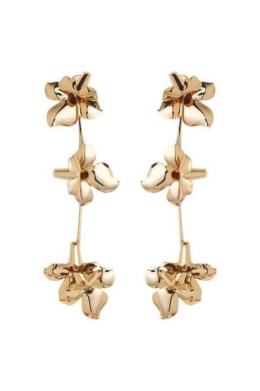 LES FLEURS DROP EARRINGS
