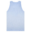 Men's Cotton Tank - Sky Blue