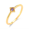 Purple Rain Solo Ring