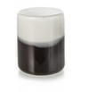Black and White Recycled Glass Tumblers Set