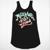 Kids Milkshake & Fries Tank Dress
