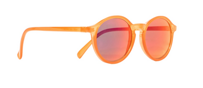 Kid's Milan Sunnies in Tangerine