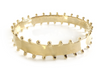 Carter Bangle Thick Gold