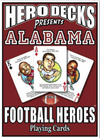 Deck of Cards- Alabama Football Heroes