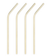 Stainless Straws- Gold Plated