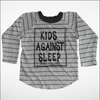 Kids Against Sleep Raglan Tee