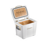 Sovaro Cooler- White with Gold Finish