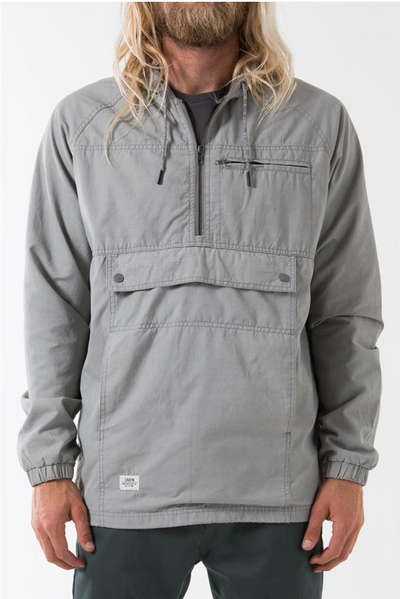 Katin Trench Jacket- Grey
