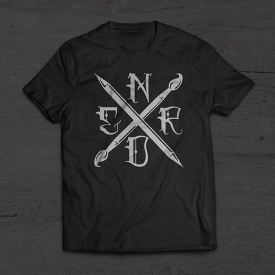 Art Nerd Black Edition T-Shirt