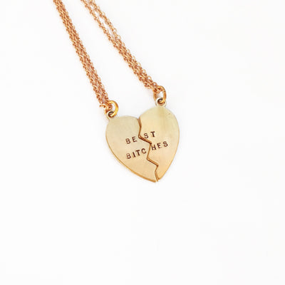 Best Bitches Duo Necklace