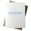 Happy Birthday *His* Card |Hidden Message|