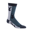 Buck - Whitetail Crew Sock Striped Forest Multi