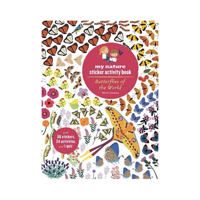 Butterflies of the World-My Nature Sticker Activity Book