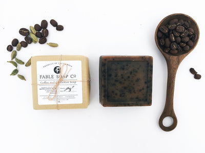 Coffee & Cardamon Goats Milk Soap
