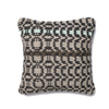 Dhurri Pillow- Black/Gray