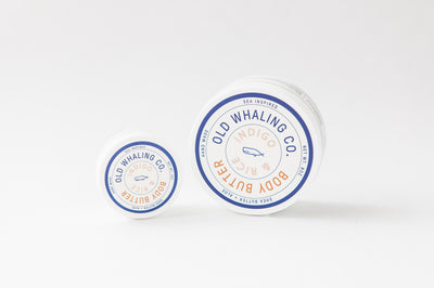 Old Whaling Company - Indigo + Rice Travel-Size Body Butter (2oz)