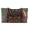 Floral Embellishment Shoulder Bag