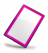 Ultra-Slim LED Light Panel - Pink