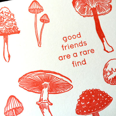 Good Friends Are A Rare Find Card