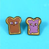 Peanut Butter & Jelly Pin Set