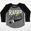 Kids Raised by Wolves Raglan