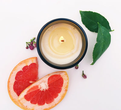Salted Grapefruit Soy Candle