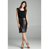 Sequin Cocktail Dress - Black