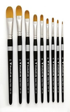 Golden Taklon Filbert 2020 Brushes