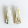 Large Triangle Stud Earrings