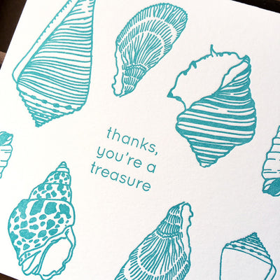 Thanks, You're A Treasure Card