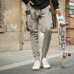 Fit Casual Large Pocket Street Style Men Pants
