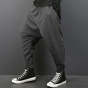 Simply Casual Hip Hop Style Men Harem Pants