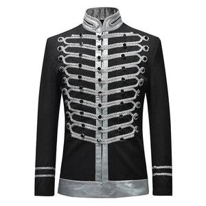Casual Thread Slim Fit Single Breasted Drama Stage Costume Men Blazer