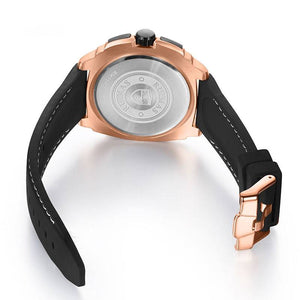 Sport Quartz Military Design in Silicone Band Men Watches