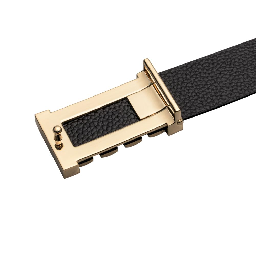 Net Style Gold Color Alloy Buckle Men Belt