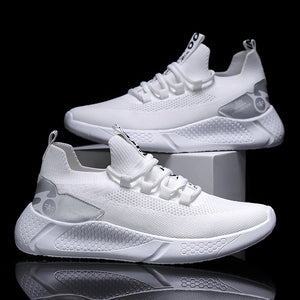 Breathable Knit Upper Men Sock Dart Sneakers