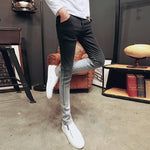Black Gradient Color Slim Fit Men Skinny Jeans