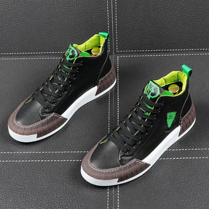 Fashion Casual High Top Leisure Men Sneakers
