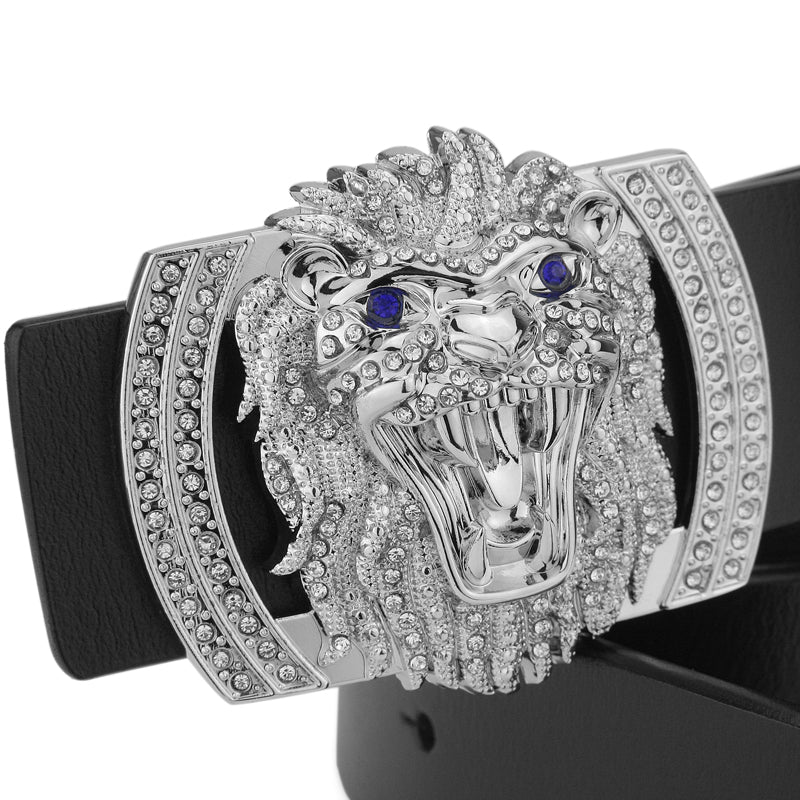 a249e83969 Barong Lion s Head Buckle Men Belt – FanFreakz