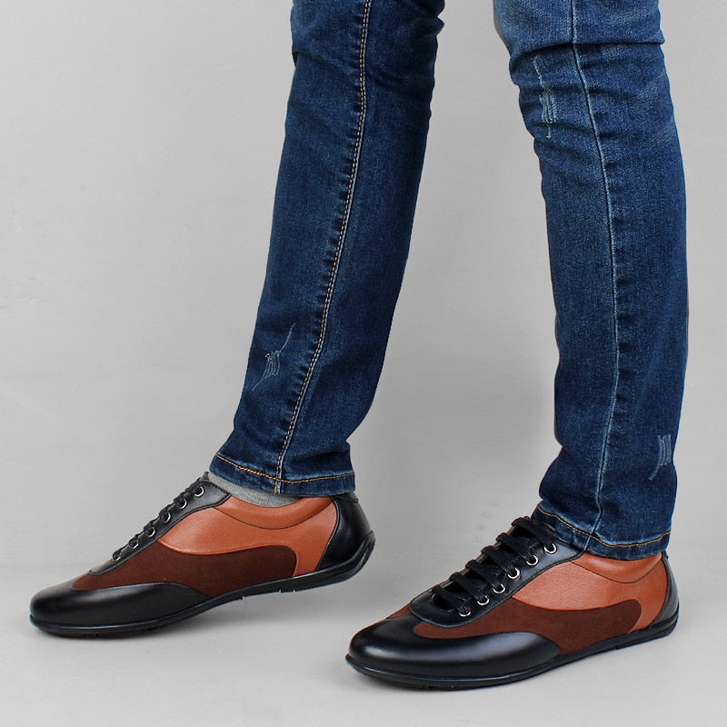 Designer Youth Casual Footwear for Men Luxury Brand