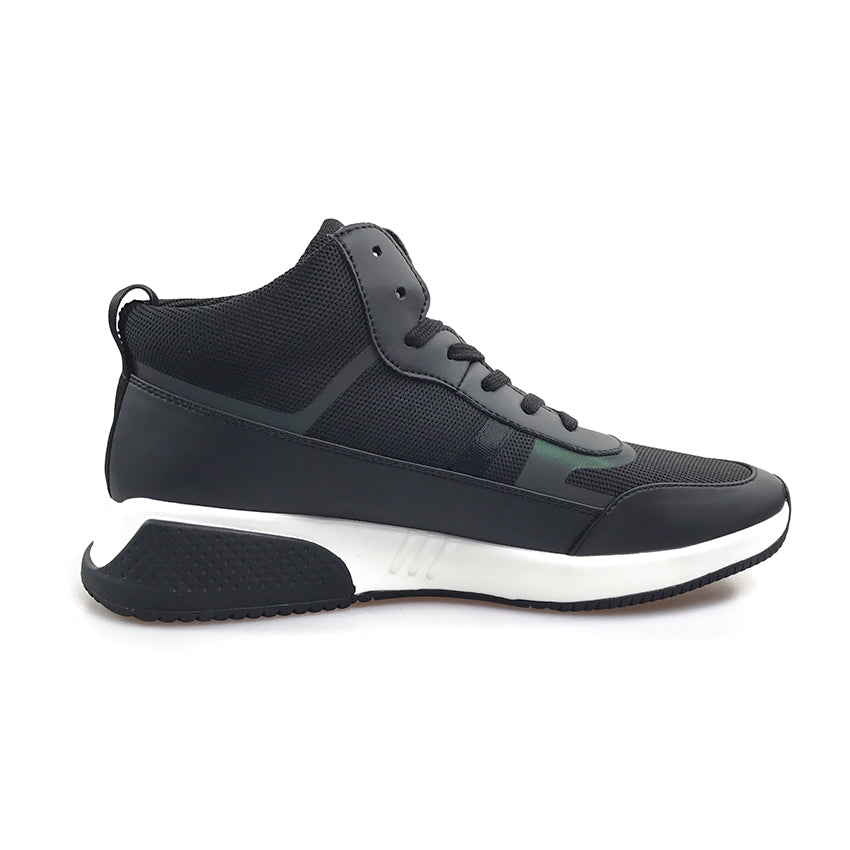 High Street Trendy Classic Genuine Leather Patchwork Men Sporty Sneaker