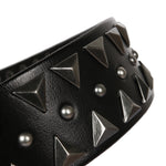 Cowboy Style Pyramid Shape Metal Rivet Men Belt - FanFreakz