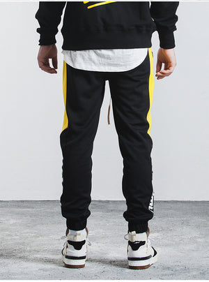 Contrast Side Stripe Men Jogger Pants - FanFreakz