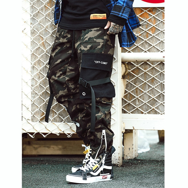 0a2c5ad9500c9 Camouflage Cotton Cargo with Patched Pocket Style Men Streetwear Pant -  FanFreakz
