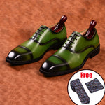 Genuine Leather Men Dress Suit Shoes