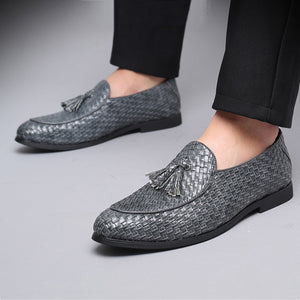 Tassel Anyaman Men Business Dress Shoes