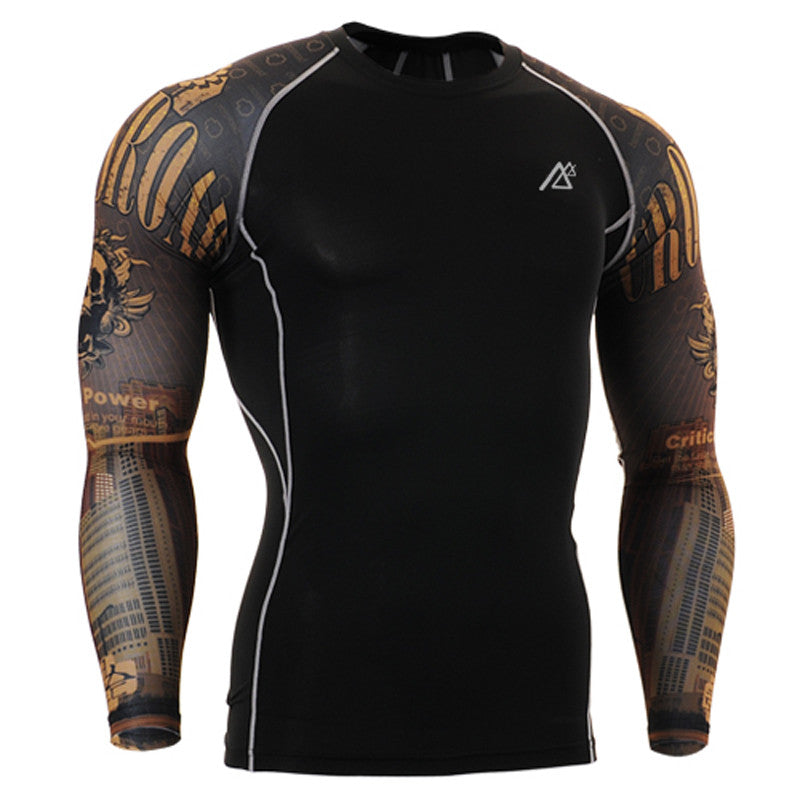 Rogue Compression Tight Skin Shirt Long Sleeves 3D Prints - FanFreakz