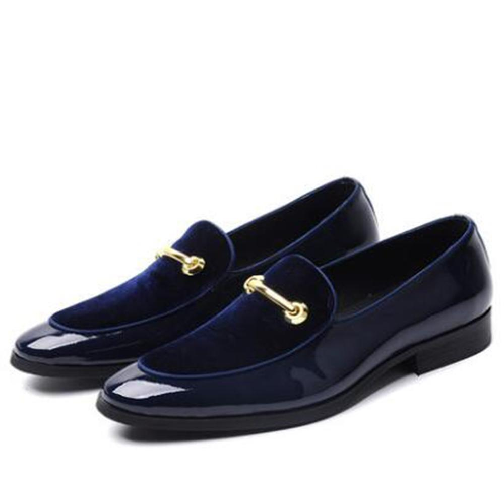 Metal Buckle For Tuxedo Styles Men Loafers Shoes